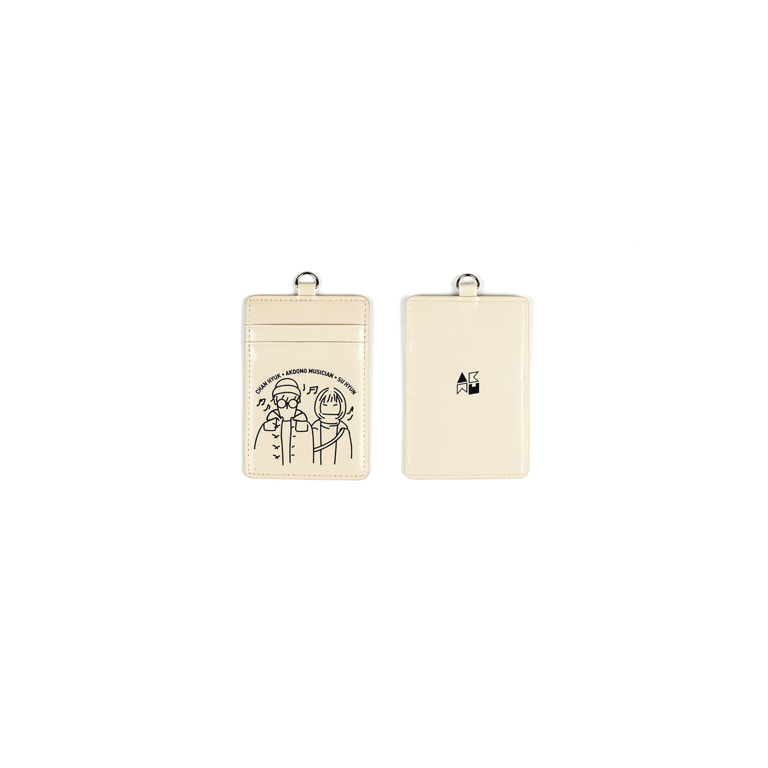 [사춘기 하] AKMU CARD WALLET NECKLACE