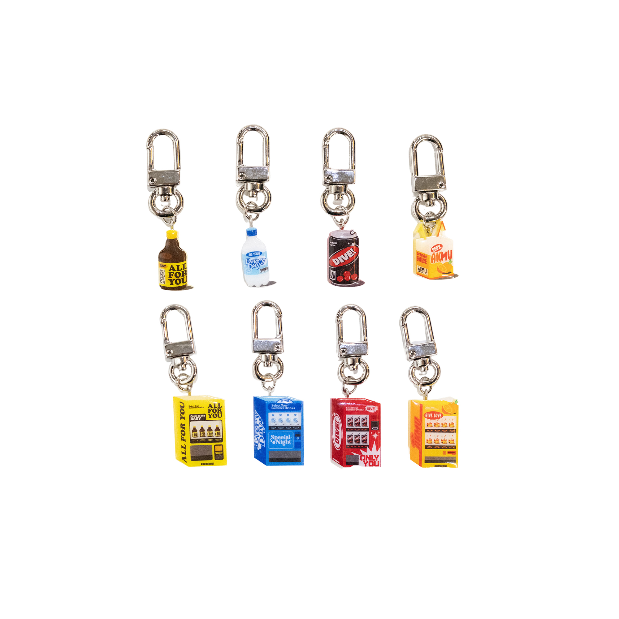 [SUMMER] SUMMER DRINKS KEYRING
