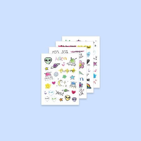 [ALiEN] SUHYUN TATOO STICKER SET