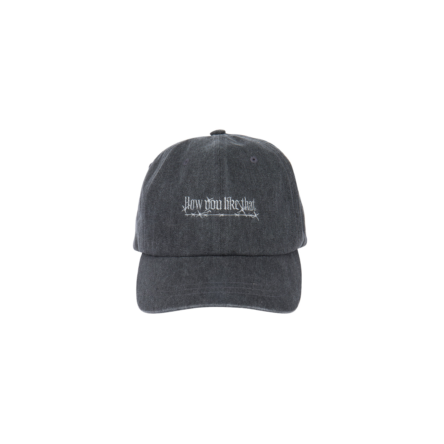 [H.Y.L.T] BLACKPINK BALLCAP_DENIM BLACK