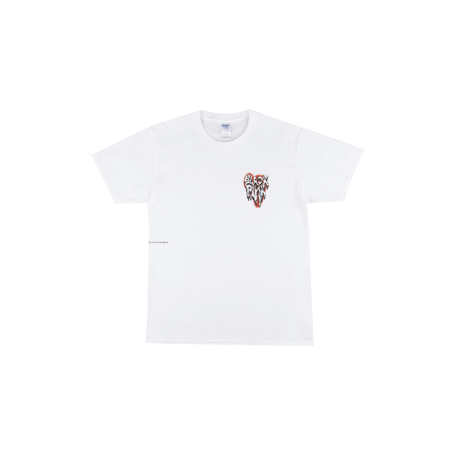[H.Y.L.T] BLACKPINK T-SHIRT_MELTING HEART_WHITE