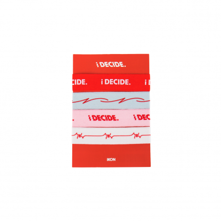[iDECIDE] iKON ELASTIC BAND SET