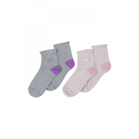[H.Y.L.T] BLACKPINK METALLIC SOCKS SET