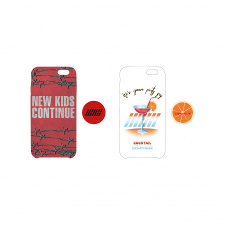 [CONTINUE] iKON PHONECASE + GRIP HOLDER SET
