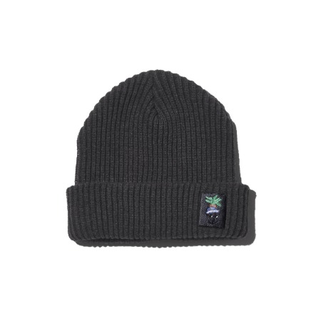 PLAC X MINO YOON GRAPHIC BEANIE_CHACOAL