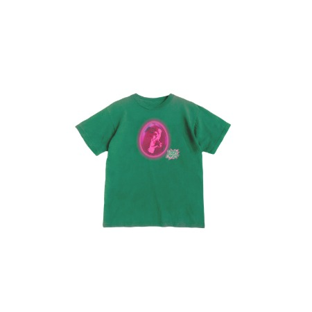 [SOURCANDY] BLACKPINK X LADYGAGA T-SHIRTS_GREEN
