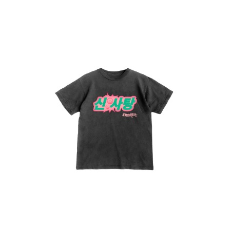 [SOURCANDY] BLACKPINK X LADYGAGA T-SHIRTS_BLACK