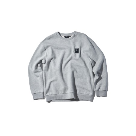 PLAC X MINOYOON LOGO ARTWORK SWEATSHIRTS_M.GREY