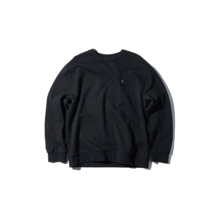 PLAC X MINOYOON LOGO ARTWORK SWEATSHIRTS_BLACK