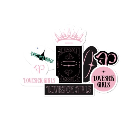[PATCHMANIA] BLACKPINK THE ALBUM STICKER