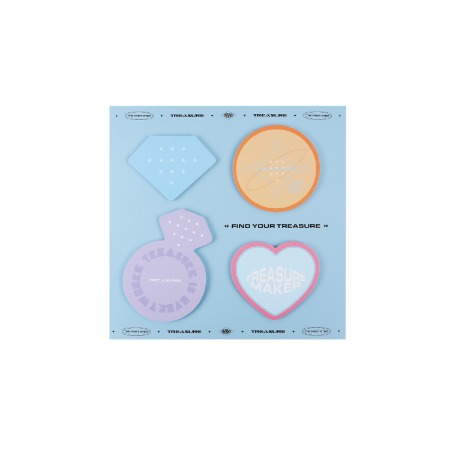 [ILOVEYOU] TREASURE STICKY NOTE SET