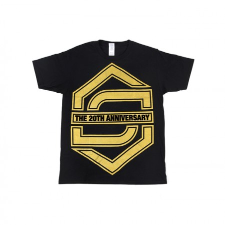 [20th] SECHSKIES 20th ANNIVERSARY T-SHIRTS_BLACK