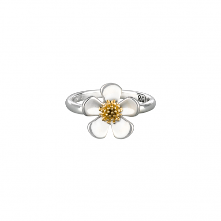 [WEORNEVER] WINNER JINU'S SILVER FLOWER RING