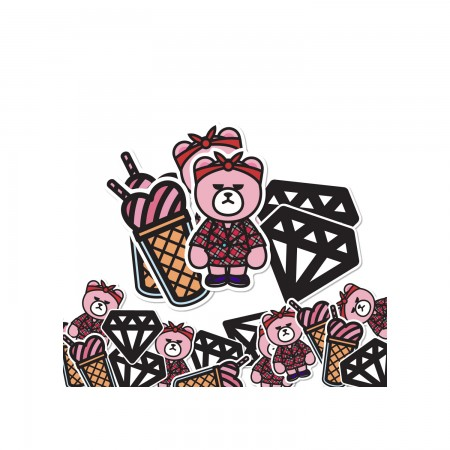[PATCHMANIA] KRUNK X BLACKPINK STICKER