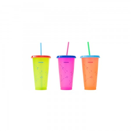 [TREASUREMAP] TREASURE REUSABLE TUMBLER SET