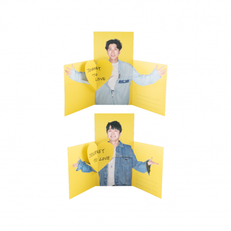 J-WALK WALK PLAY LOVE PHOTO CARD SET