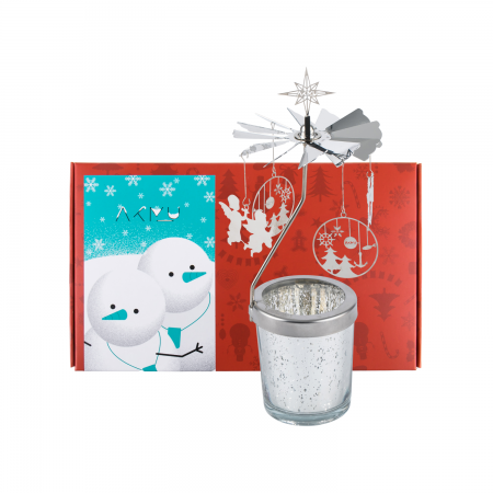 [YGBOX7] AKMU CHRISTMAS CANDLE HOLDER