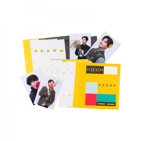 SECHSKIES NOW HERE AGAIN SCRAP BOOK REFILL SET