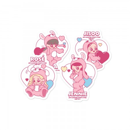 [PATCHMANIA] BLACKPINK CHARACTER STICKER