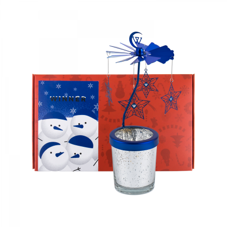 [YGBOX7] WINNER CHRISTMAS CANDLE HOLDER