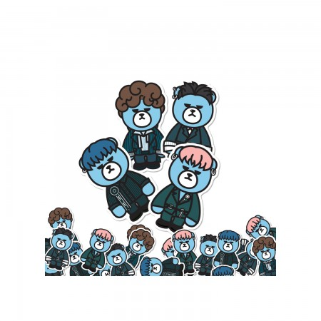 [PATCHMANIA] KRUNK X WINNER STICKER