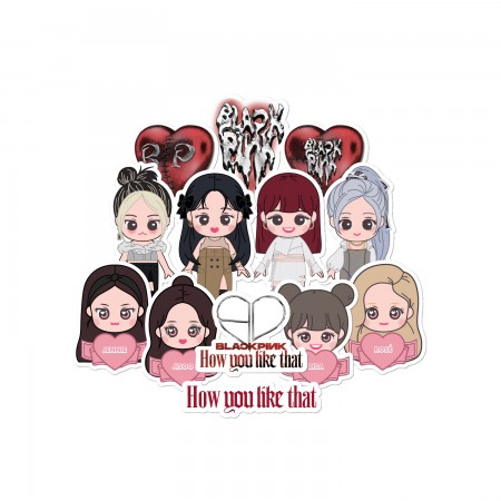 [PATCHMANIA] BLACKPINK H.Y.L.T STICKER