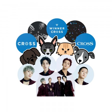 [PATCHMANIA] WINNER CROSS STICKER