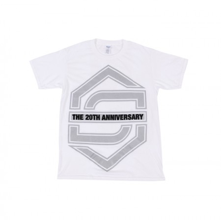 [20th] SECHSKIES 20th ANNIVERSARY T-SHIRTS_WHITE