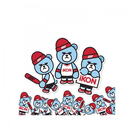 [PATCHMANIA] KRUNK X iKON STICKER